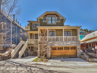 Beautiful VRBO Park City Mansion 60 Steps to Main 180 Steps to Slopes