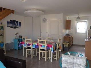 Erquy, plage de Caroual  500 m en famille,wifi, GR 34 et activites nautiques