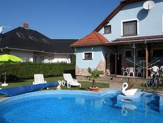 FerienHaus mit beheizbarem Pool und Strandnahe