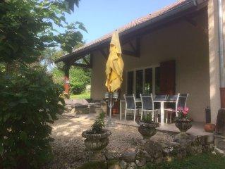 Maison située entre le Parc Naturel de la Chartreuse et le lac d'Aiguebelette
