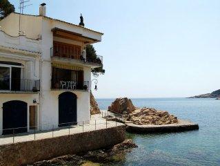 AIGUA DOLCA 1-beachfront apartment-Tamariu-Costa Brava