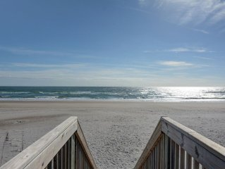 Sanderling Cottage: 3 Br / 2 Ba Oceanfront In Topsail Beach, Sleeps 6