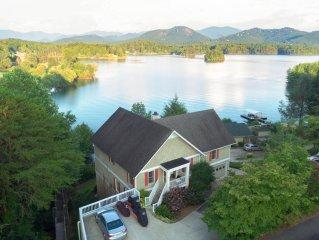 Discover Serene Mountain Vistas on Beautiful Lake Chatuge.