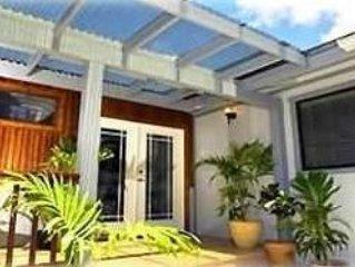North Shore Anini Villa - Tropical Surroundings!