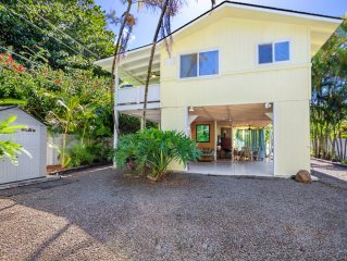 Walk 2 blocks to beach, gated, A/C,upgraded