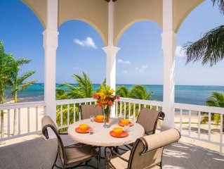 Beachfront 2nd floor unit with private skytop deck and pool