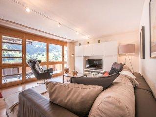 Gemütliche, ruhige Wohnung mit Blick auf die Eigernordwand