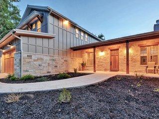 Gorgeous New Construction Waterfront Texas Farmhouse