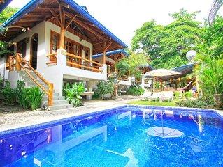Steps from Beach 4 bungalows Santa Teresa Costa Rica