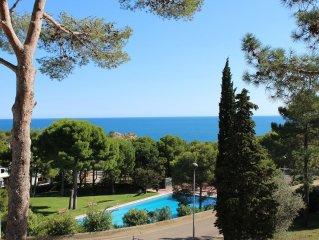 Tamariu, Costa Brava: 8 person villa with sea views