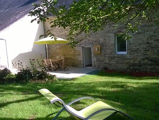 holiday cottage for 5 people, near the sea, South Finistère
