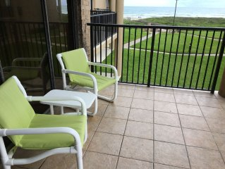 New Listing... On the Beach 2 Bedroom Condo Next to Schlitterbahn's Water Parks