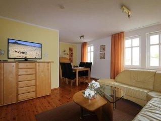86 qm Ferienwohnung zum Wohlfuhlen, 2 Schlafzimmer, Fahrradvermietung
