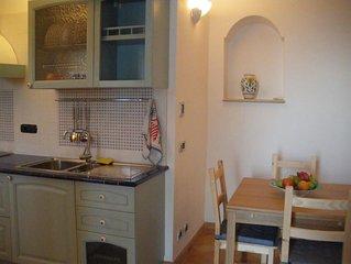 Studio apartment in Conca dei Marini with Air conditioning, Terrace, Washing mac