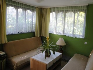 Apartment 600 m from the center of Ljubljana with Parking, Terrace, Washing mach
