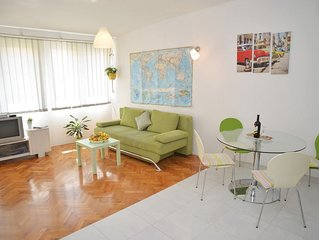 Apartment in the center of Sibenik with Air conditioning, Balcony, Washing machi