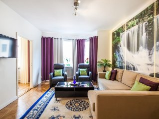 Apartment in the center of Stockholm with Internet, Lift, Balcony (443046)