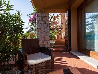 House in the center of Costa Paradiso with Parking, Garden, Balcony, Washing mac
