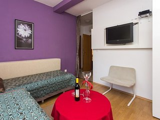 Apartment in Soline with Air conditioning, Terrace (438223)