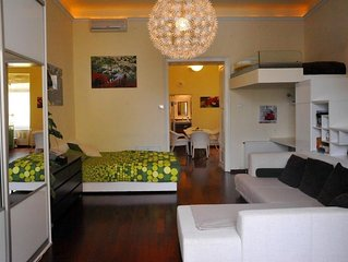 Studio apartment in the center of Zagreb with Air conditioning, Washing machine