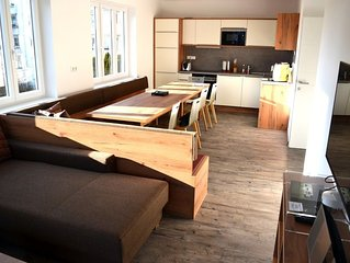 Apartment 591 m from the center of Salzburg with Parking, Balcony, Washing machi