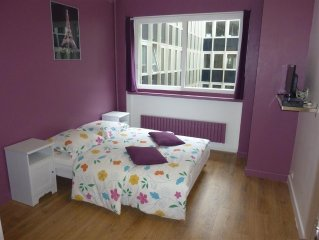 Studio apartment 589 m from the center of Paris with Lift, Parking (372943)