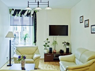 Apartment in the center of Vilnius with Washing machine (371498)