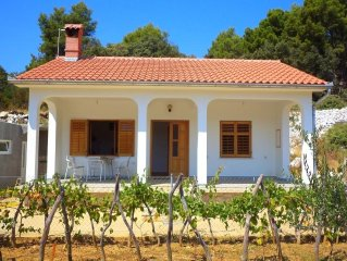 Country house 853 m from the center of Kampor with Parking, Terrace, Washing mac