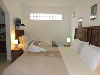 Apartment 522 m from the center of Playa del Carmen with Internet, Air condition
