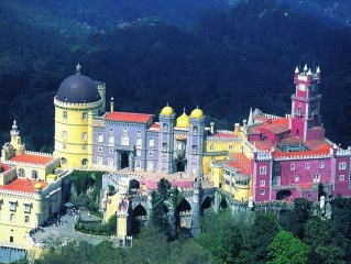 Country house in the center of Sintra with Terrace, Washing machine (382347)