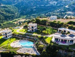 Kefalosbay Residence appart. etage & piscine & panorama sur la baie de Kefalos