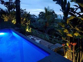 Villa Las Olas - Private Pool, Huge Floating Deck, Direct Ocean Sunsets!