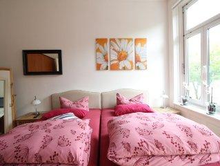 ❤️Top Apart. | 85qm Altbau mit Balkon | St. Georg  | kostenloses WLAN ❤️