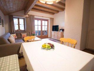 Ferienwohnung (91qm), 'Chiemsee', Balkon, Kuche extra, 2 Schlaf- und 1 Wohnzimme