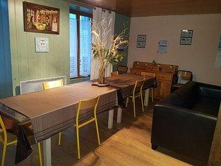 Superbe appartement de 120 m2 pour 14 pers maxi, equipe WIFI