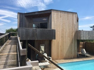 Fire Island Pines, beautiful home, great views & steps to beach! Book for 2020!