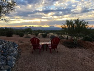 62 ac upscale Ranch/Equine Boarding Facility in Sonoran Desert, 20 min to city