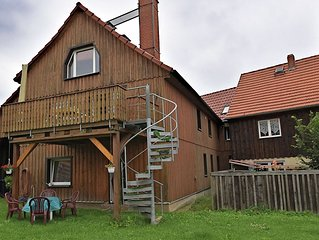 Holiday home in rural environment in beautiful Ostharz