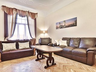 Apartment 642 m from the center of Riga with Internet, Lift, Washing machine (43