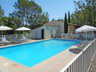 Vacation home in St. Paul - en - Foret, Cote d'Azur hinterland - 12 persons, 6
