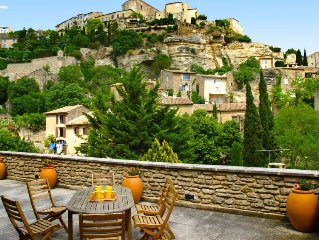 Vacation home La Maison si tranquille  in Gordes, Luberon - 8 persons, 4 bedroo