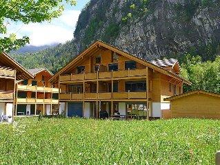 Ferienwohnung Staubbach  in Lauterbrunnen, Berner Oberland - 6 Personen, 3 Schla