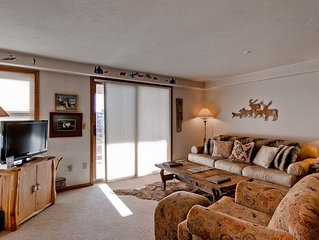 Slopeside Condo w/Amazing View of Mt. Werner & More