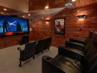 Summit Sanctuary: 3  BR, 3  BA Cabin / Bungalow in Gatlinburg, Sleeps 10