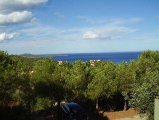 Sud Sardegna - vacanze a Costa Rei   in  Villino vista mare