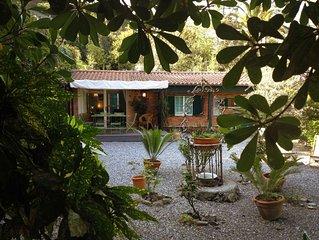 Monterosso Al Mare: Deliziosa casa con giardino in posizione unica