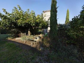 Pigeonnier ***du Château La Tour Plantade 12km Albi avec piscine