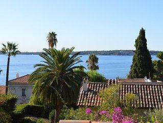 Maison de charme, terrasse vue mer, Basse Californie, jardin calme, parking,