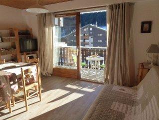 apartment in Savoy chalet in La Chapelle d'Abondance