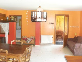 Cottage with sauna 4 km from the slopes of the Bresse and 6 km from Gerardmer